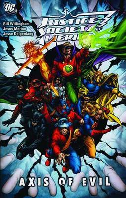 Justice Society of America Axis of Evil