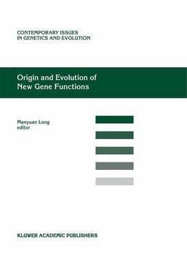 Origin and Evolution of New Gene Functions