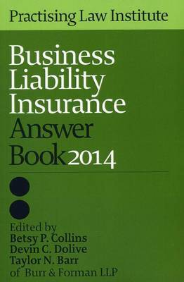 Business Liability Insurance Answer Book 2014