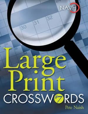 Large Print Crosswords: No. 7