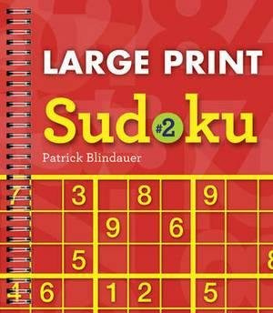 Large Print Sudoku: No. 2