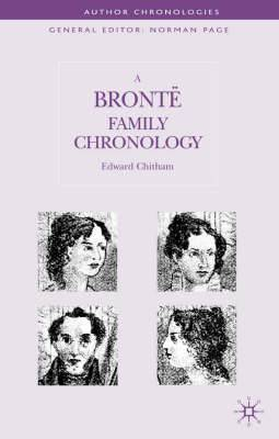 A Bronte Family Chronology