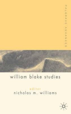 Palgrave Advances in William Blake Studies
