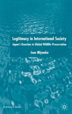 Legitimacy in International Society: Japan's Reaction to Global Wildlife Preservation: 2004