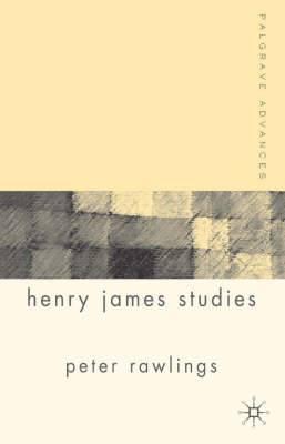 Palgrave Advances in Henry James Studies