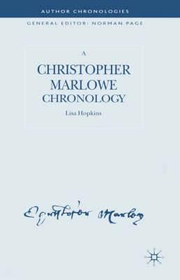 A Christopher Marlowe Chronology