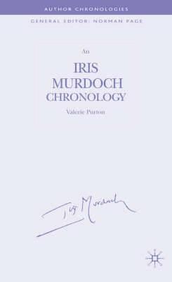 An Iris Murdoch Chronology