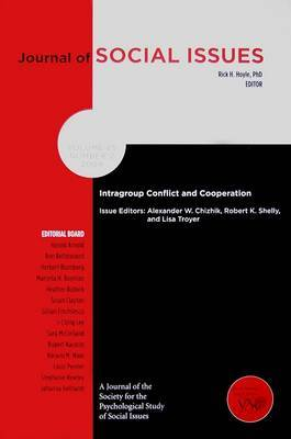 Intragroup Conflict and Cooperation