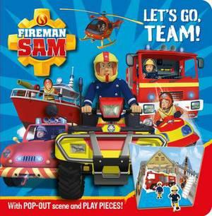 Fireman Sam: Let's Go Team! Pop-out Play Book