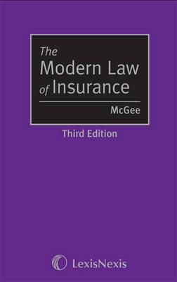 The McGee: The Modern Law of Insurance