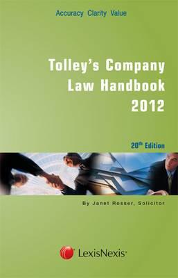 Tolley's Company Law Handbook
