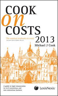 Cook on Costs: 2013