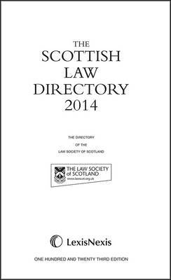The Scottish Law Directory: The White Book: 2014
