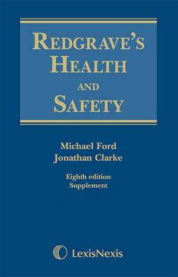 Redgrave's Health and Safety: Second Supplement