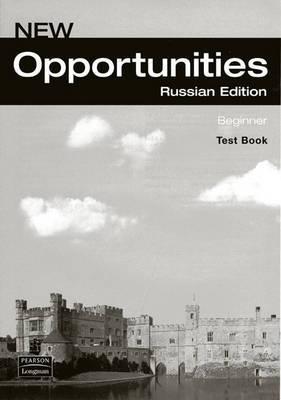 Opportunities Russia Beginner Test Book
