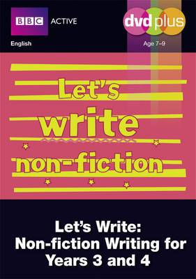 Let's Write Non-Fiction Years 3 and 4 DVD Plus Pack