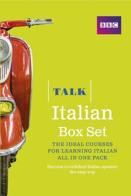 Talk Italian Box Set (Book/CD Pack): The Ideal Course for Learning Italian - All in One Pack