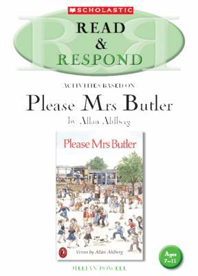 Please Mrs Butler Teacher's Resource: Teacher's Resource