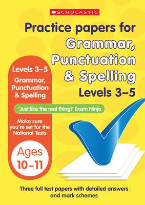 Grammar, Punctuation and Spelling Levels 3-5