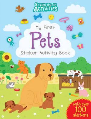 My First Pets Sticker Activity Book