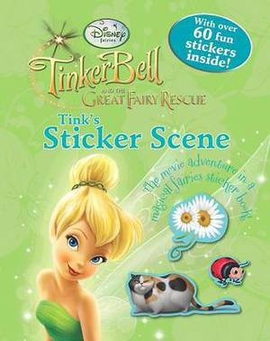 Disney Sticker Scene: Tinker Bell 3