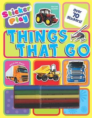 Sticker Fun Learning: Things That Go