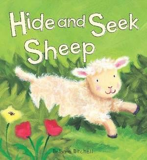 Padded Animal Board Book: Hide and Seek Sheep