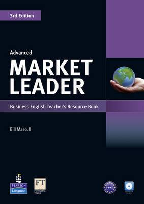 Market Leader 3rd Edition Advanced Teacher's Resource Book for Pack