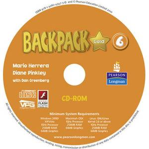 Backpack Gold 6 CD-ROM (Student Book) New Edition for Pack