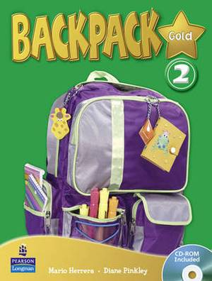 Backpack Gold: 2: Backpack Gold 2 SBk and CD Rom N/E Pk Student Book