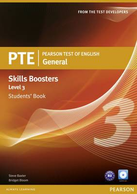 Pearson Test of English General Skills Booster 3 Students' Book and CD Pack