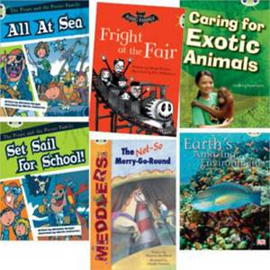 Learn to Read at Home with Bug Club: White Pack (Pack of 6 reading books with 4 fiction and 2 non-fiction)