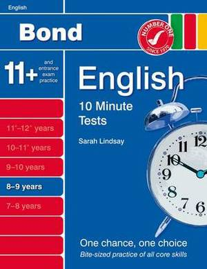Bond 10 Minute Tests English: 8-9 Years