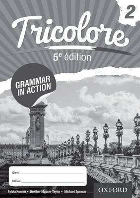Tricolore 5e edition Grammar in Action Workbook 2 (8 pack)