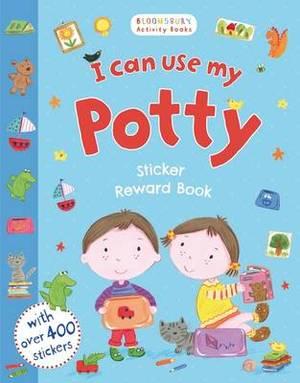 I Can Use My Potty Sticker Reward Book