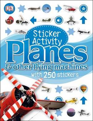 Sticker Activity Planes
