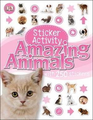 Amazing Animals Sticker Activity