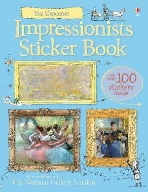 Impressionists Sticker Book