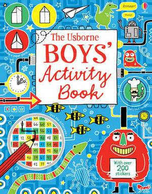 Boy's Activity Book