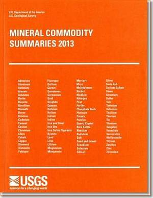 Mineral Commodity Summaries, 2013