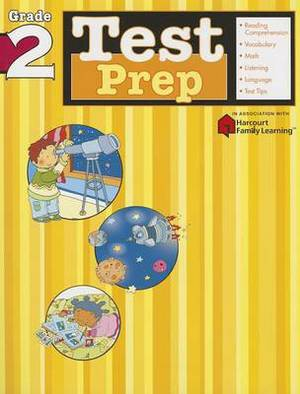 Test Prep: Grade 2 (Flash Kids Harcourt Family Learning)
