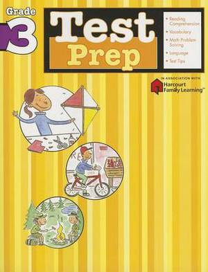 Test Prep: Grade 3 (Flash Kids Harcourt Family Learning)