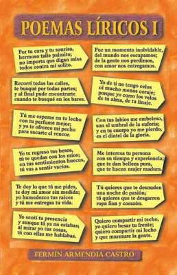 Poemas Liricos: No. 1