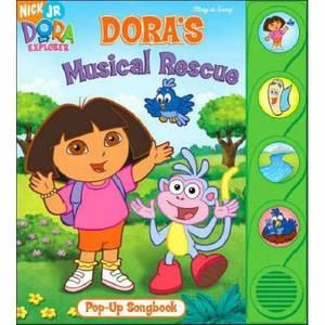 Dora's Musical Rescue Pop-up Sound Book