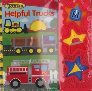 Tonka Helpful Trucks: 3 Button Book