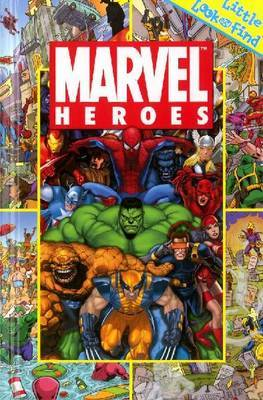 Marvel Heroes: Little Look and Find