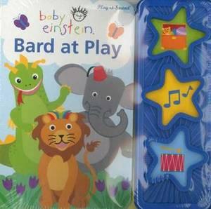 Baby Einstein Bard at Play 3 Button Book