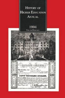 History of Higher Education Annual: 1994
