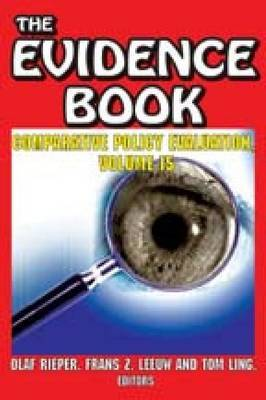 The Evidence Book: Concepts, Generation and Use of Evidence: v. 15: Comparative Policy Evaluation