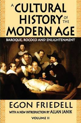 A Cultural History of the Modern Age: Volume 2: Baroque, Rococo and Enlightenment